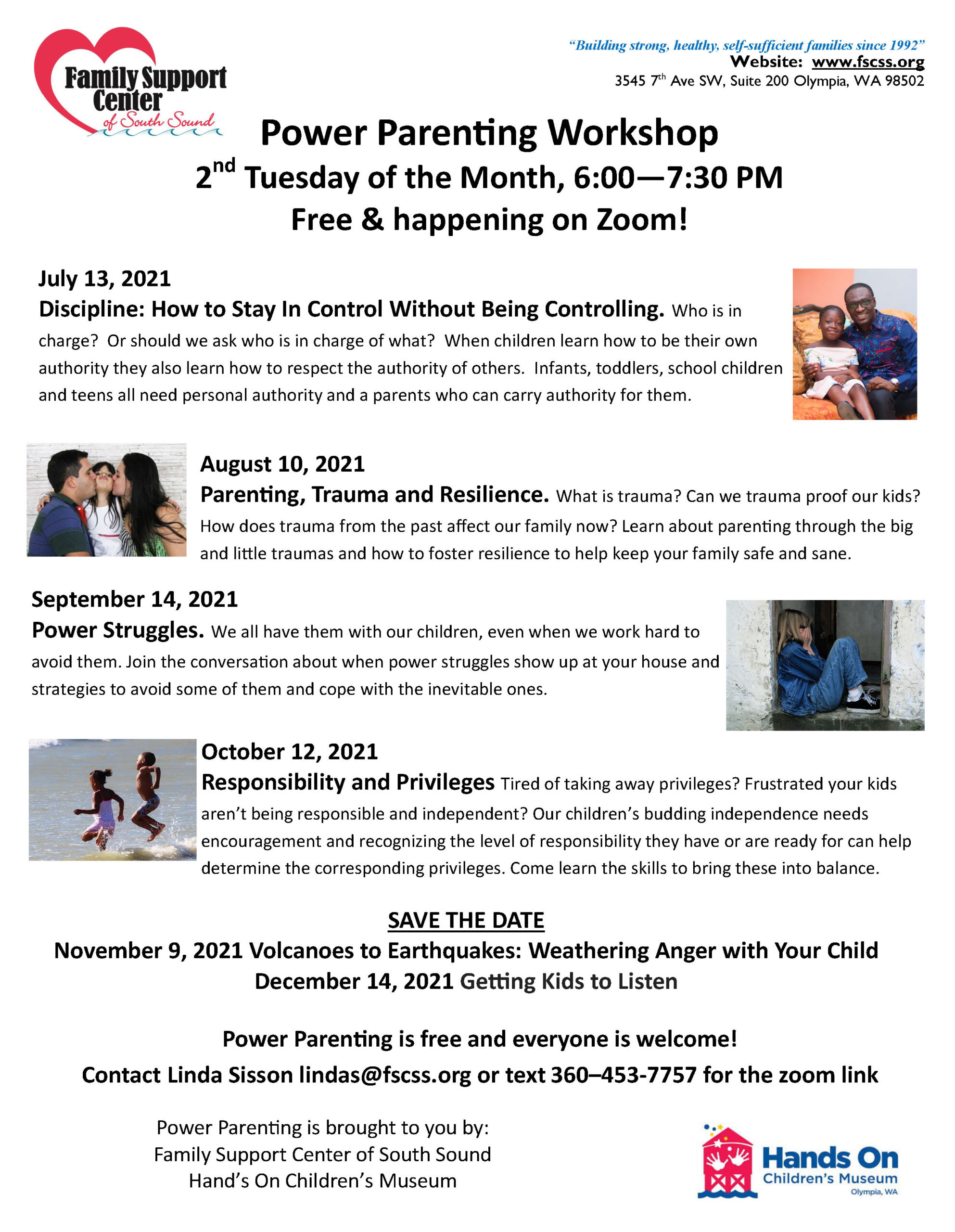a Power Parenting July-Oct 2021